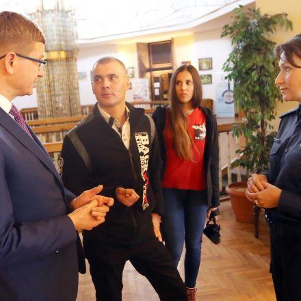 Konferencja Prasowa Przeciwko Przemocy w Urzędzie Miasta Częstochowy