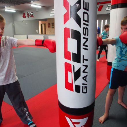 Zakończenie projektu Ninja Backfist Kids